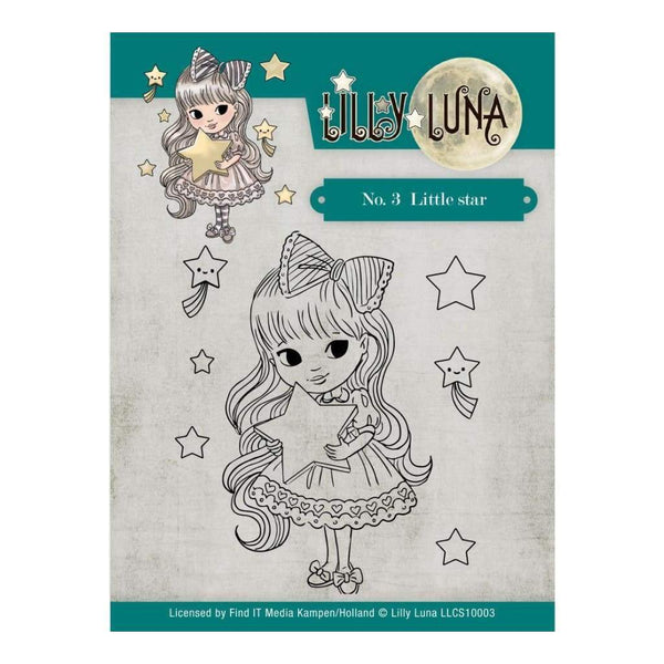 Lilly Luna Stamp Set - No 3 Little Star