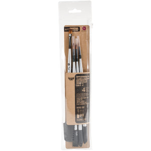 Prima Double-Ended Texture Brush Set 2 - 4/Pkg