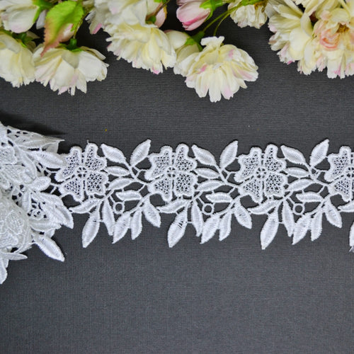 Flower & Leaf Lace - 30cm