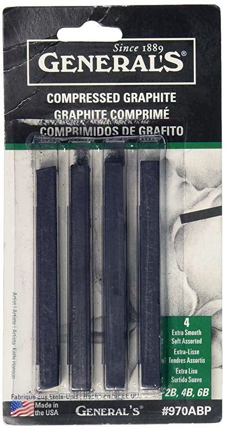 General's Compressed Graphite Sticks