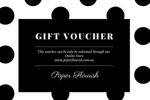Paper Flourish Gift Cards