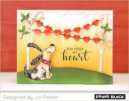 Penny Black Clear Stamps Grateful Heart