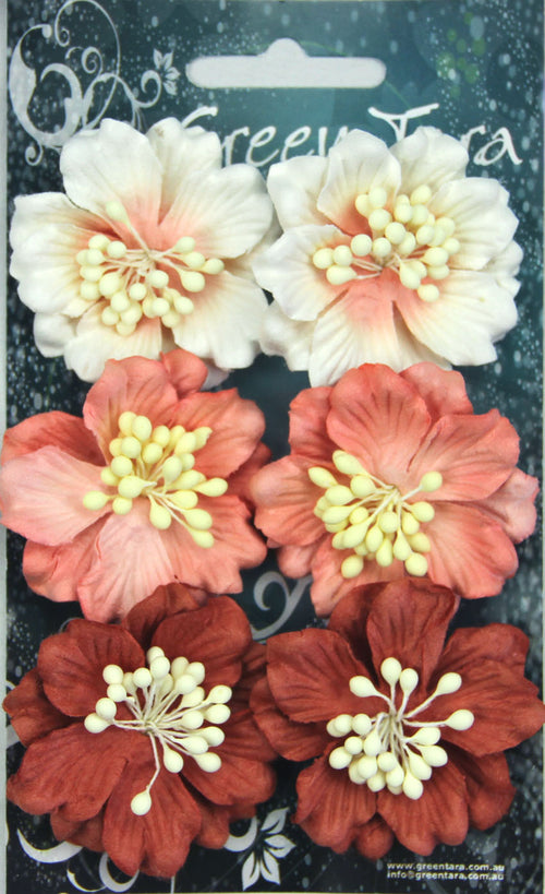 Green Tara Flower Pack - Azaleas Peach