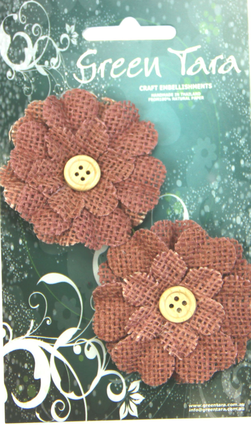 Green Tara Flower Pack - Burlap Brown