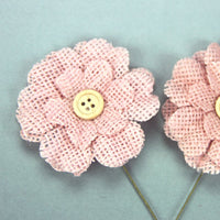 Green Tara Flower Pack - Burlap Pink