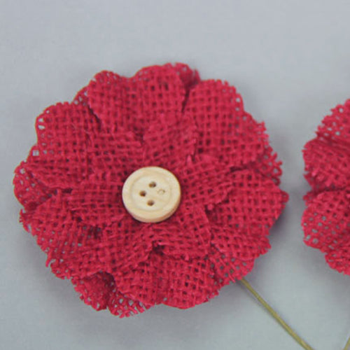 Green Tara Flower Pack - Burlap Red