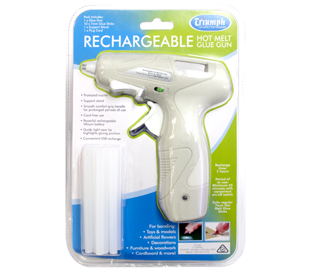 Triumph Hot Glue Gun - Rechargeable