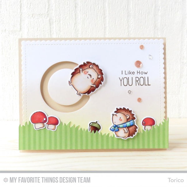 My Favorite Things Happy Hedgehogs Stamp