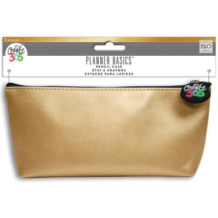 MAMBI Pencil Case - Planner Basics Gold
