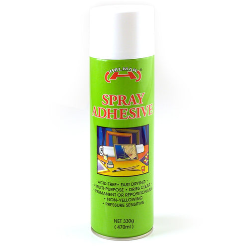 Helmar Spray Adhesive - 470ml
