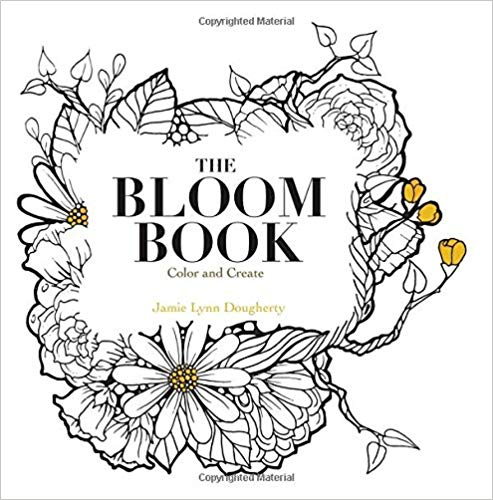Jamie Dougherty Colouring Book - The Bloom Book