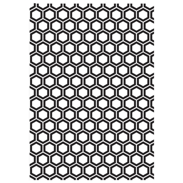 Kaisercraft Embossing Folder - Honeycomb