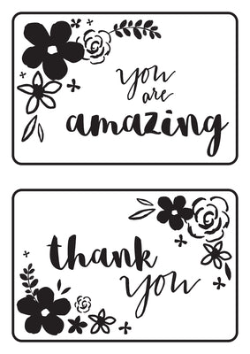 Kaisercraft Embossing Folder - Mini Floral Card Fronts