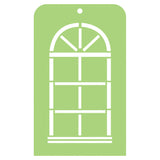 Kaisercraft Stencil - Mini Arch Window