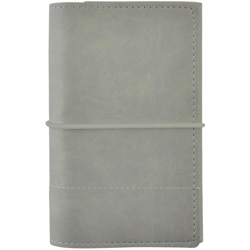 Kaisercraft Planner Grey Stitched Small