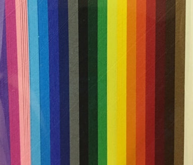 HP Quilling Strips 9mm - Rainbow