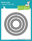 Lawn Fawn Die Set - Slide on Over Circles
