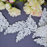 Large Leaf Trio Lace - 30cm