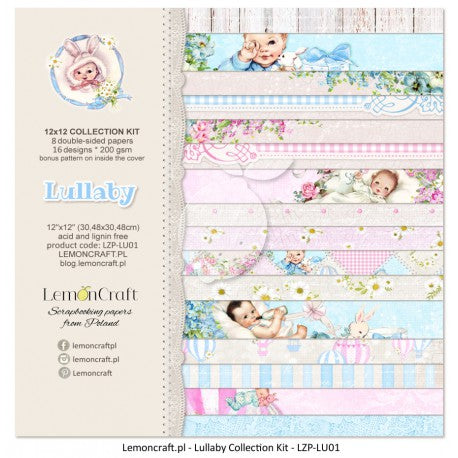 "LemonCraft Paper Pad 12"" x 12"" - Lullaby Collection"