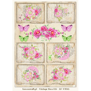 LemonCraft Cut Apart Sheet A4 - Fresh Summer (015)