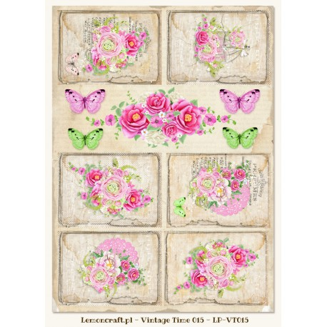 LemonCraft A4 Cut Apart Sheet - Fresh Summer Tags