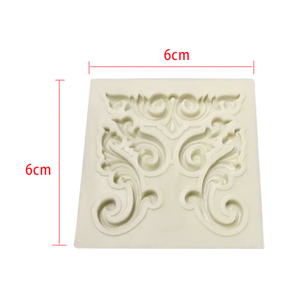 Silicone Mold - Little Flourishes
