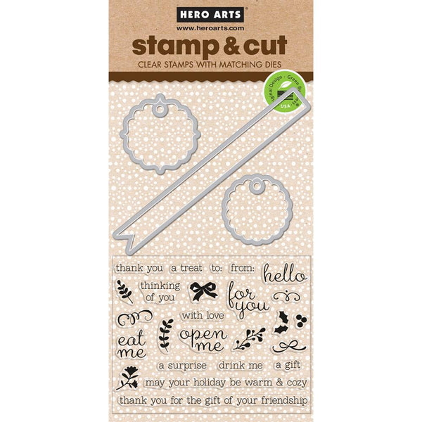Hero Arts Stamp & Cut Little Messages