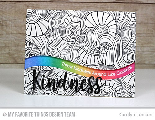 My Favorite Things Die set - Kind & Kindness