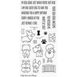My Favorite Things Stamp set - Lucky Dog