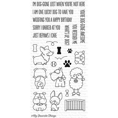 My Favorite Things Stamp - Lucky Dog
