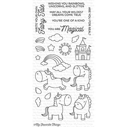 My Favorite Things Magical Unicorns Stamp