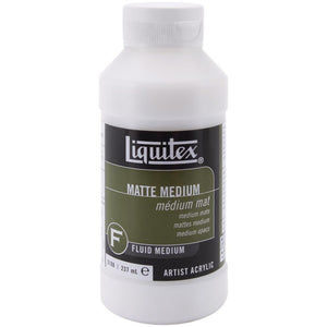 Liquitex Matte Medium 8oz/237ml