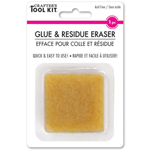 Multicraft Crafters Tool Kit Glue & Residue Eraser