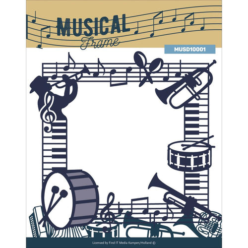 Amy Designs Die - Musical Frame