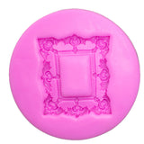 Silicone Mold - Ornate Rectangle Frame