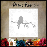 Paper Rose Die - Kookaburra on Branch