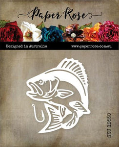 Paper Rose Die Set - Bass Fish