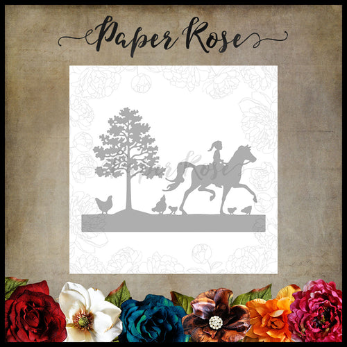 Paper Rose Afternoon Ride