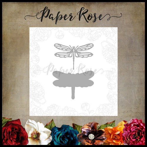 Paper Rose Die - Dragonfly Small