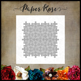 Paper Rose Jigsaw Puzzle