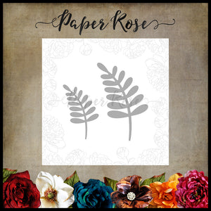 Paper Rose Die -  Leaf 1