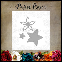 Paper Rose Die set - Lyla Flowers