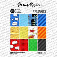 Paper Rose Paper Pack A5 -  Superhero
