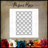 Paper Rose Die - Quatrefoil Layer 2