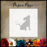 Paper Rose Die - Sitting Dog