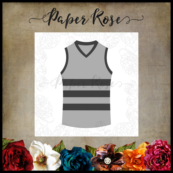 Paper Rose Die set - Sport Jersey Top