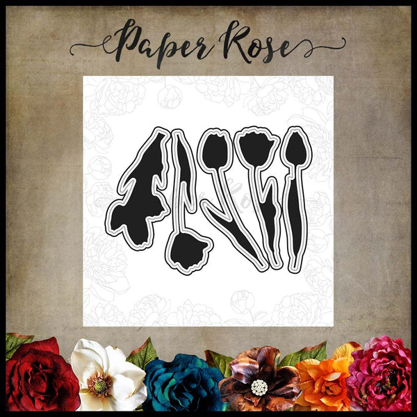 Paper Rose Die Set - Tulips