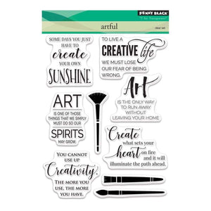Penny Black Stamp set - Artful