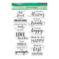 Penny Black Stamp set - Choose Happy