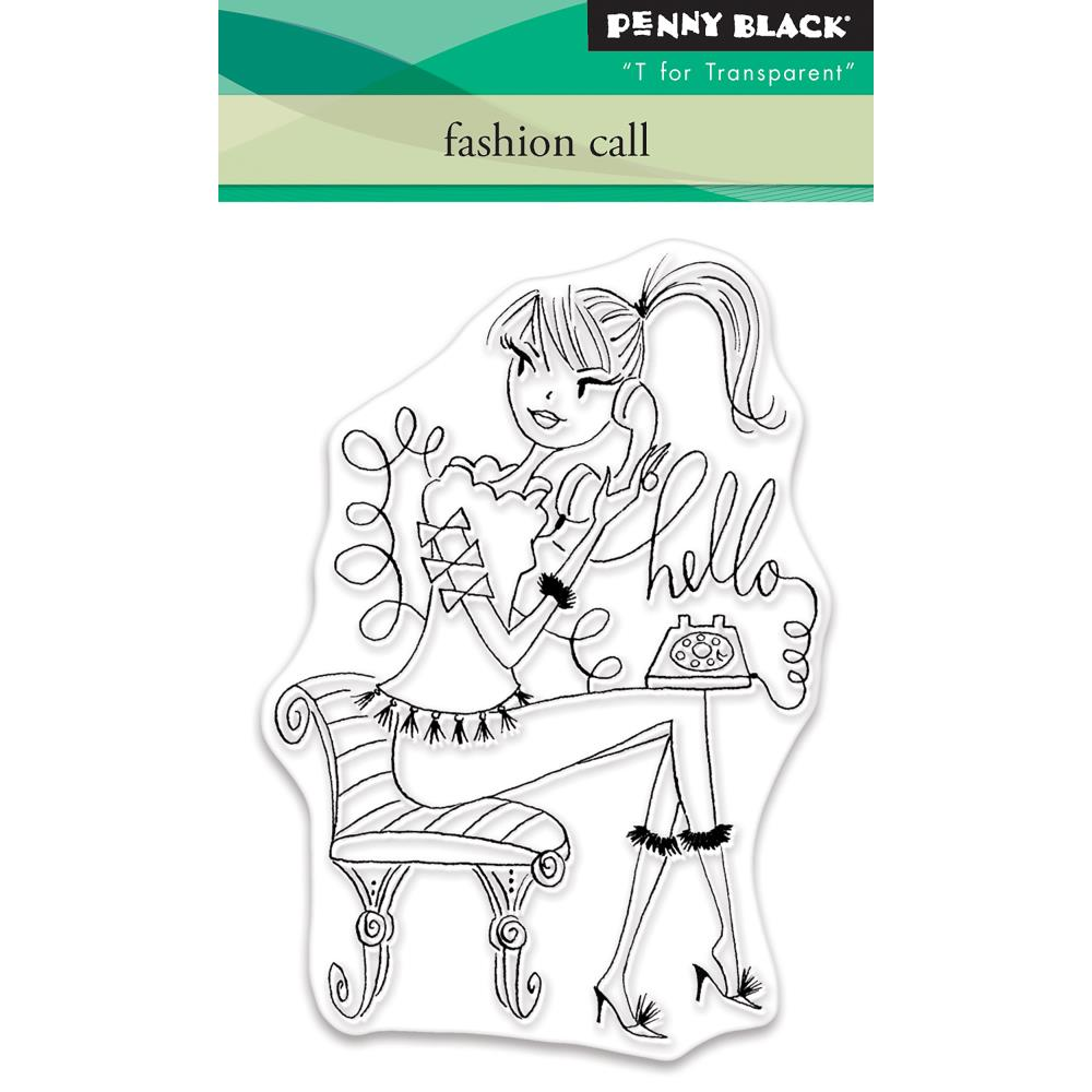 Penny Black  Stamp - Fashion Call